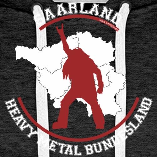 Saarland Heavy Metal Bundesland - Männer Premium Hoodie