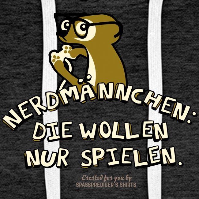 Nerdmännchen Erdmännchen Design für Geeks & Nerds