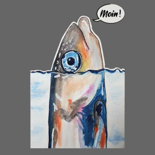 Moin Fisch - Männer Premium Hoodie