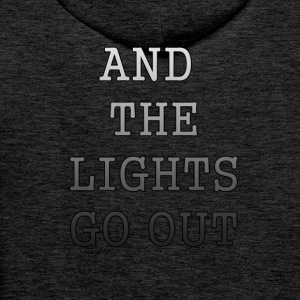 AND THE LIGHTS GO OUT - Men's Premium Hoodie