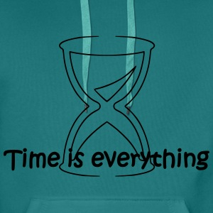Time is everything - Männer Premium Hoodie