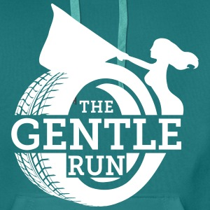 The Gentle Run - Premium hettegenser for menn