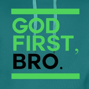 God First Bro - Premiumluvtröja herr