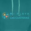 Mi playa de Las Canteras - Sudadera con capucha premium para hombre