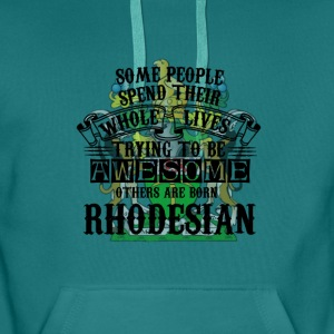 Rhodesian Born Awesome - Men's Premium Hoodie