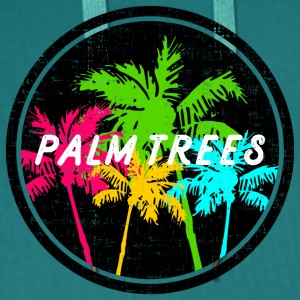 Colorful palms / Standshirt - Men's Premium Hoodie