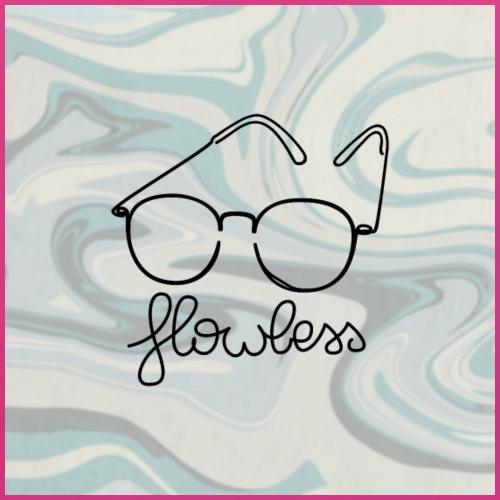 Marble Glasses Black - Bio-slabbetje voor baby's