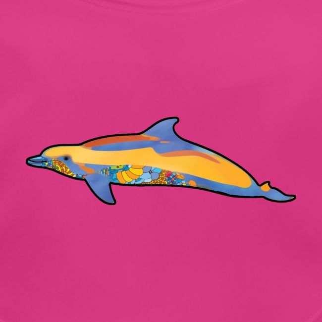 Colorful dolphin