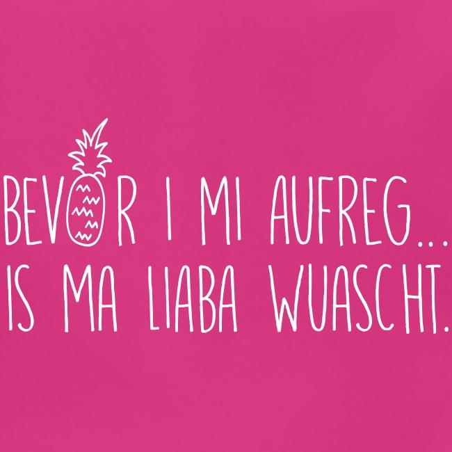 Vorschau: Bevor i mi aufreg is ma liaba wuascht - Baby Bio-Lätzchen