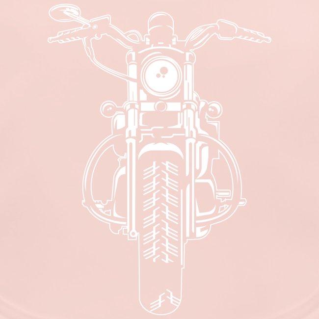 Chopper / Motorrad 07_weiß
