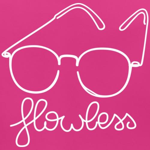 Flowless Glasses White - Bio-slabbetje voor baby's