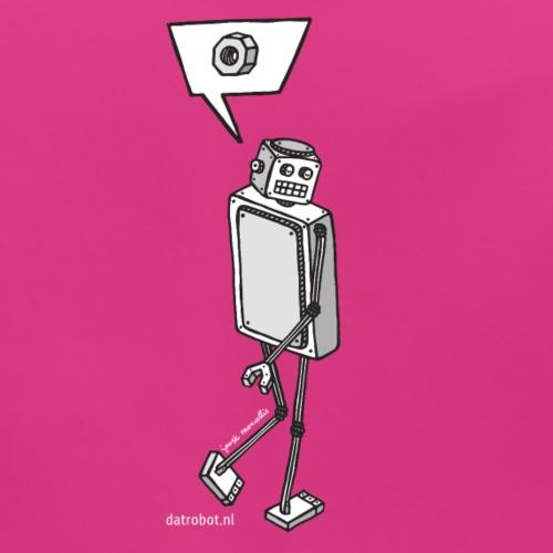 Dat Robot: Nerd Flirt Woman - Bio-slabbetje voor baby's