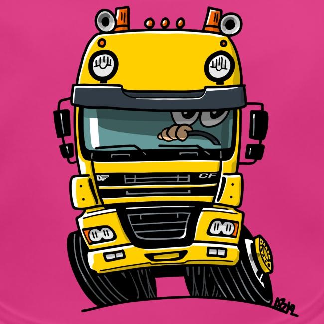 0810 D truck CF geel