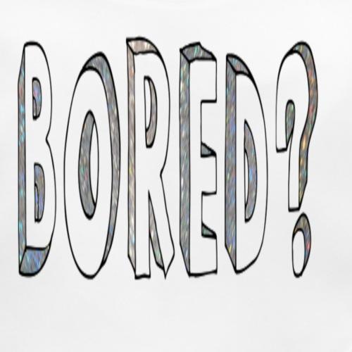 Bored? - Baby Organic Bib
