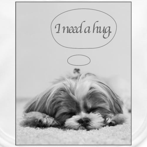 I Need A Hug: Phone Case - Baby Organic Bib