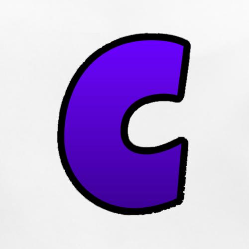C-Logo Purple - Baby Bio-Lätzchen