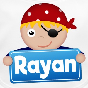 Little Pirate Rayan - Ekologisk babyhaklapp
