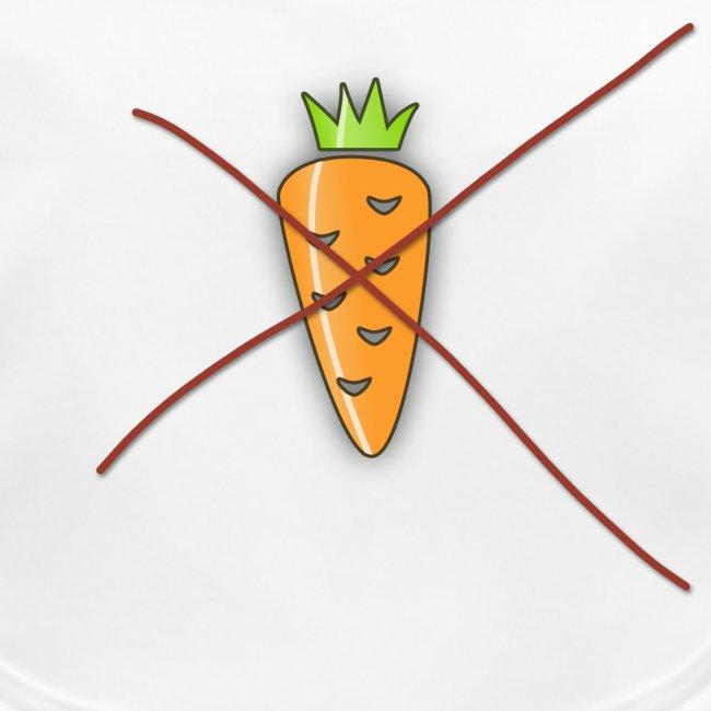 carrot print dark outline