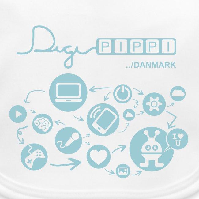 DigiPippi Danmark Blue