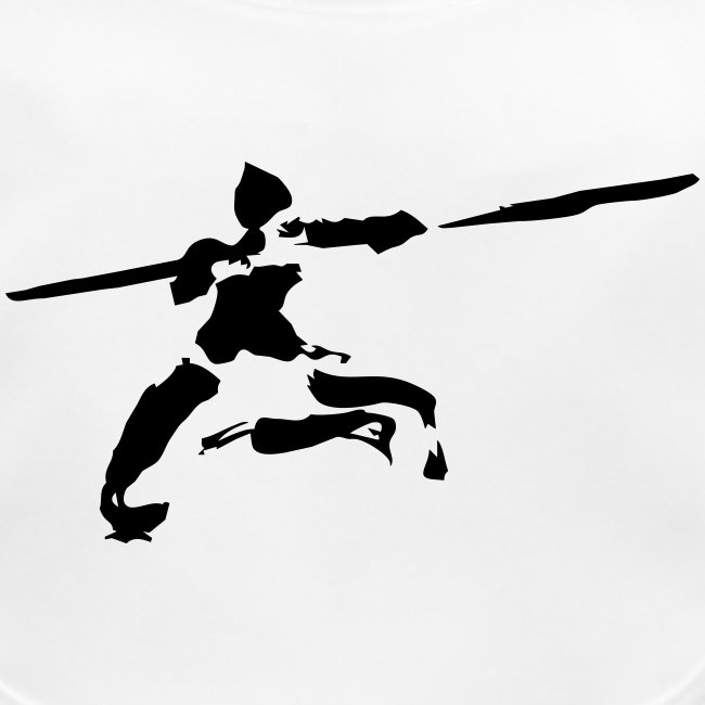 Kungfu stick fighter / ink