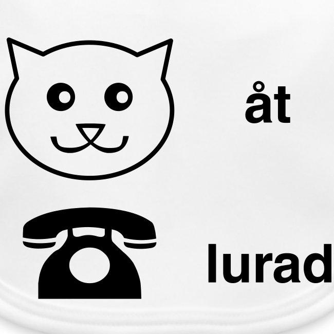 Katt åt telefon