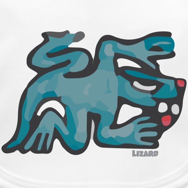 Aztec Lizard/Net