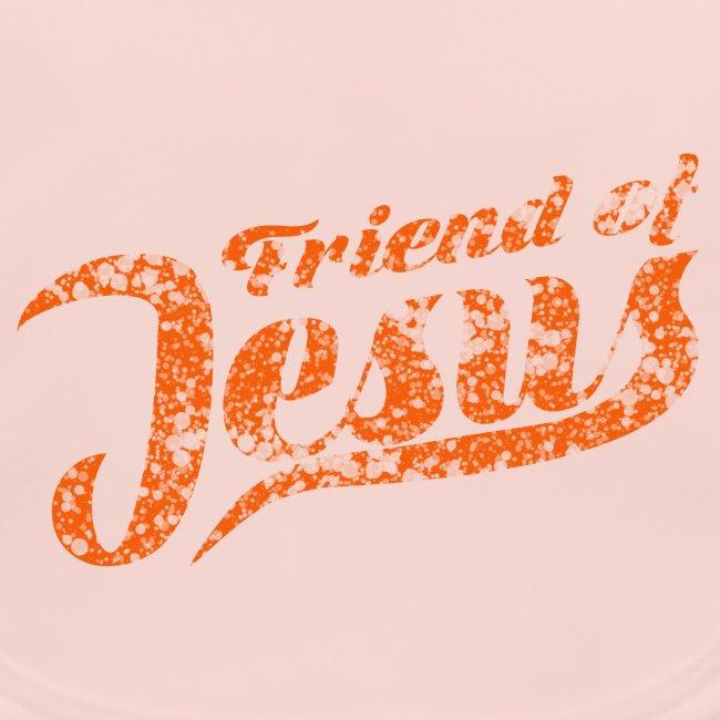 Friend of Jesus orange
