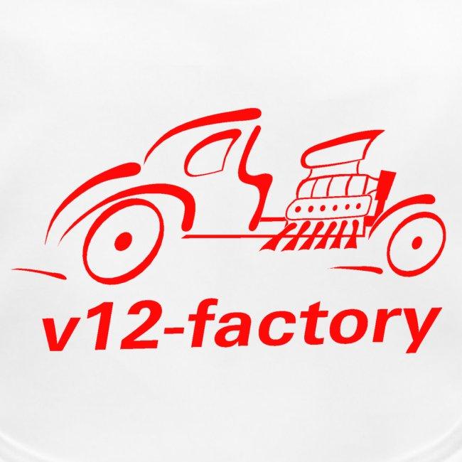 v12 factory Logo