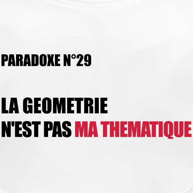PARADOXE geometrie