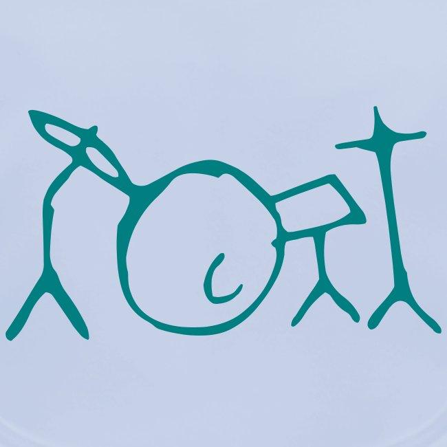 Jon Kennedy Drumkit Logo ONLY