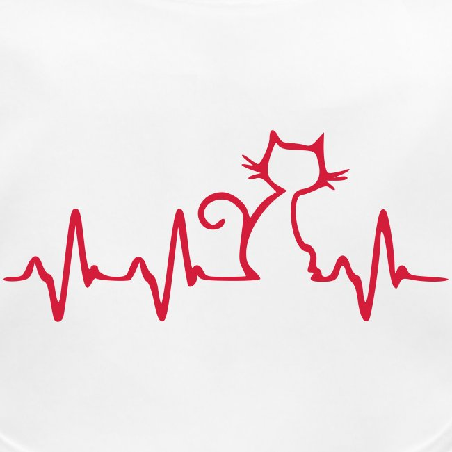 Vorschau: Cat Heartbeat - Baby Bio-Lätzchen