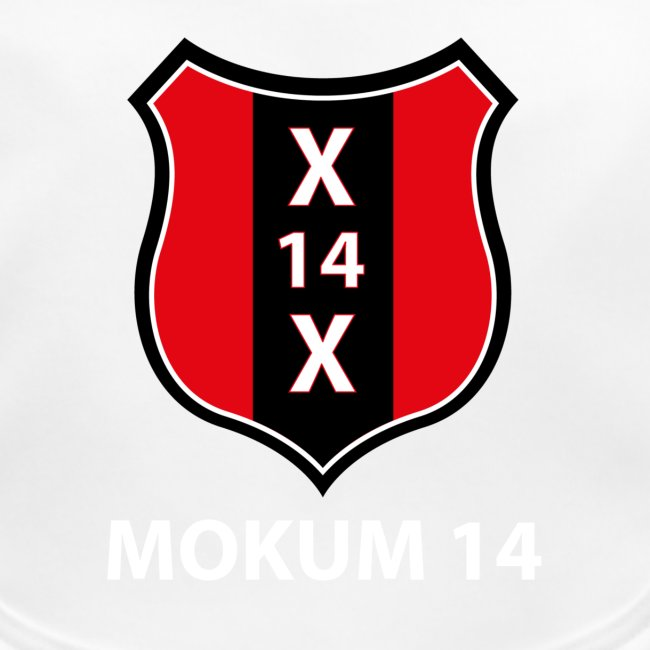 Mokum 14 Emblem (white text)