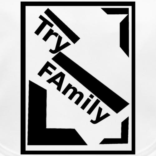 Handy_TryFamily_Black - Baby Bio-Lätzchen