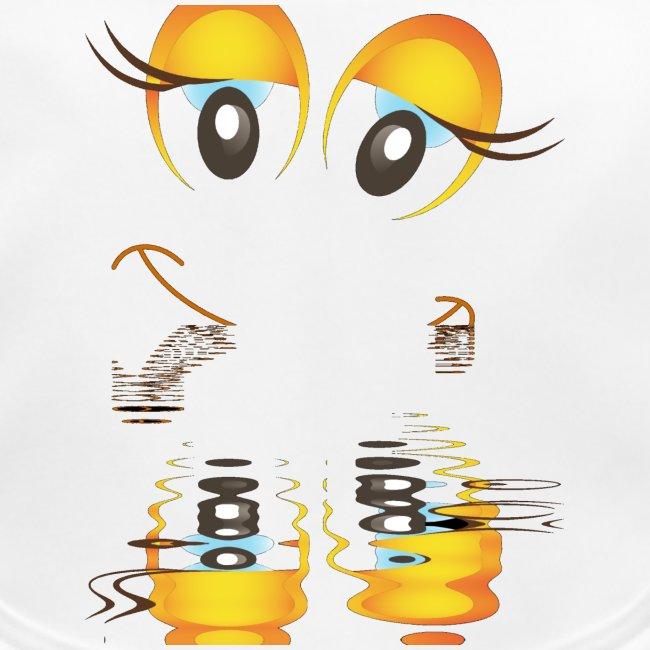 Eye series - gokden eye clown 1
