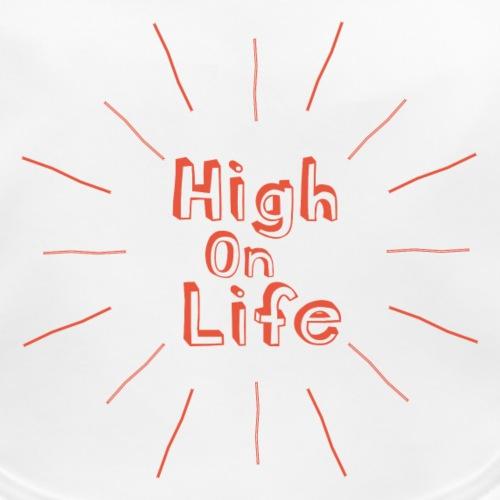 High On Life - Ekologisk babyhaklapp