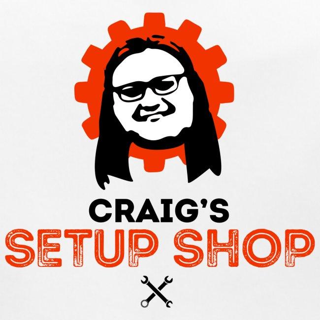 Craigs Setup Shop on White
