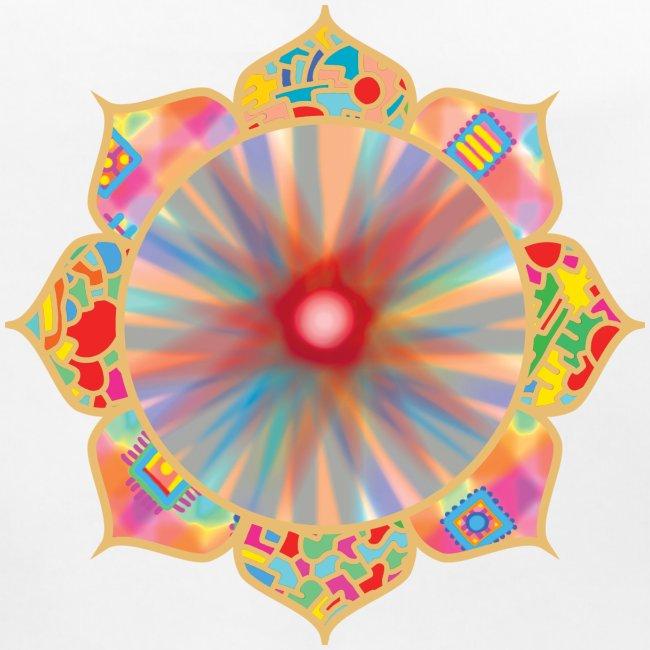 Colored Lotus