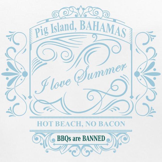 i love summer pig island