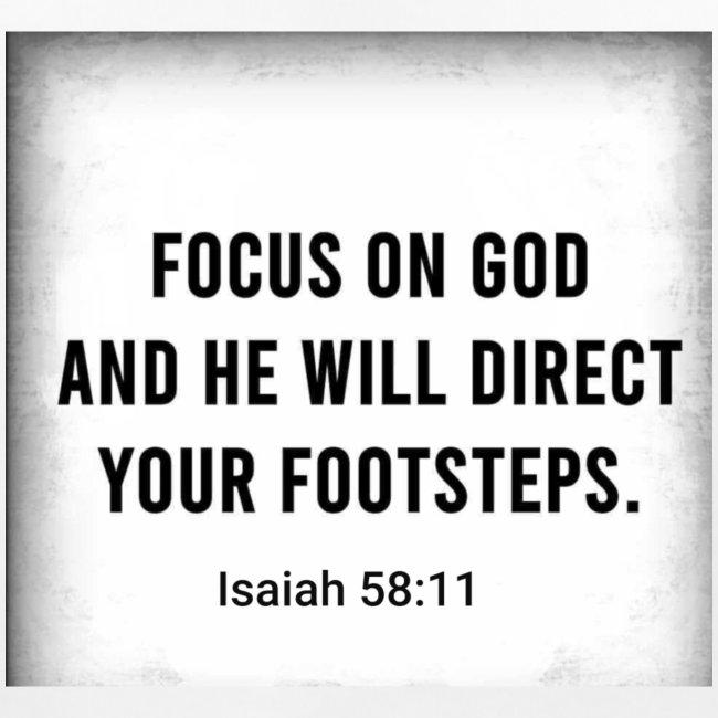 English Bible verse/Isaiah 58:11