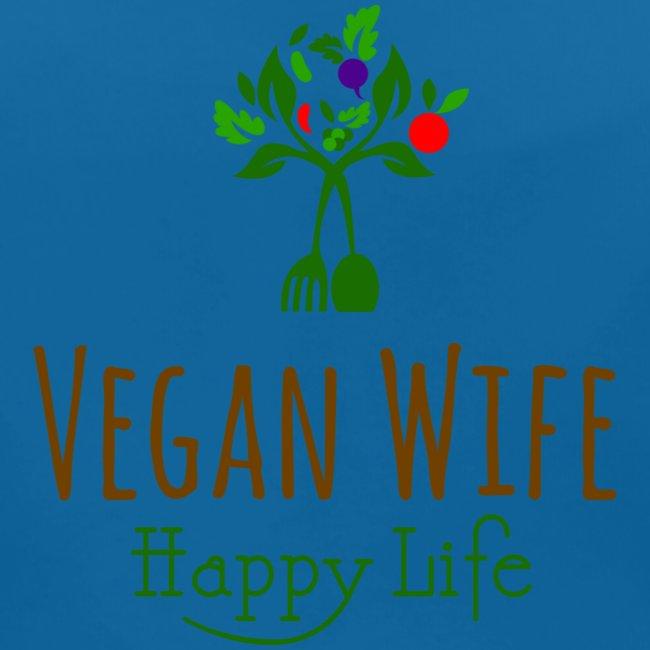 VEGAN WIFE Happy Life