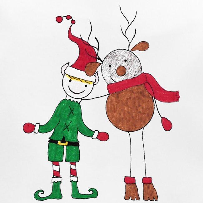 Elfo e Renna di Nonna Catia