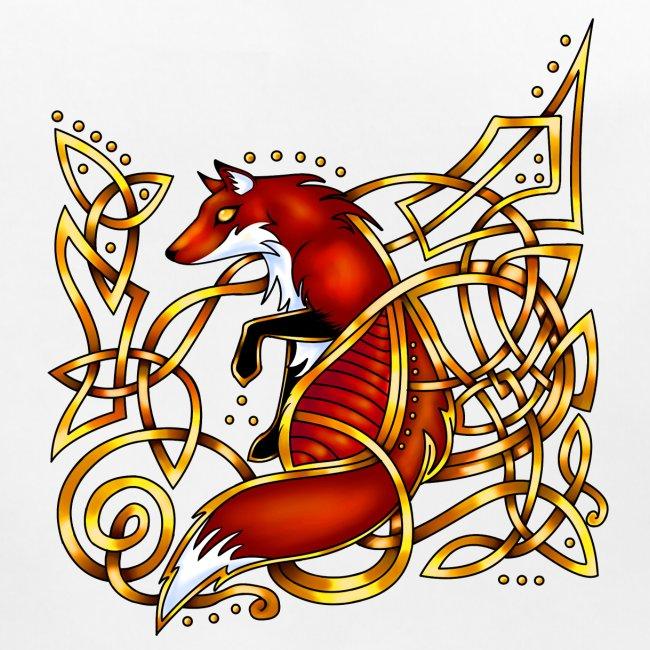 Celtic Fox - sitting