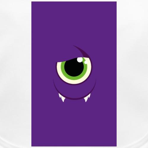 Monster / Alien Papa - Baby Bio-Lätzchen