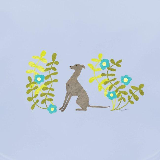 Windspiel mit Blumen