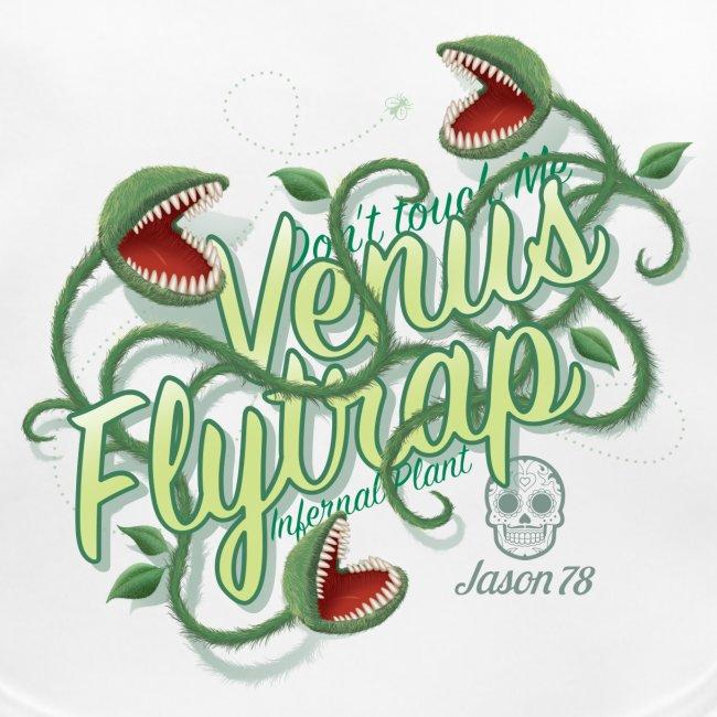 Venus Flytrap on white