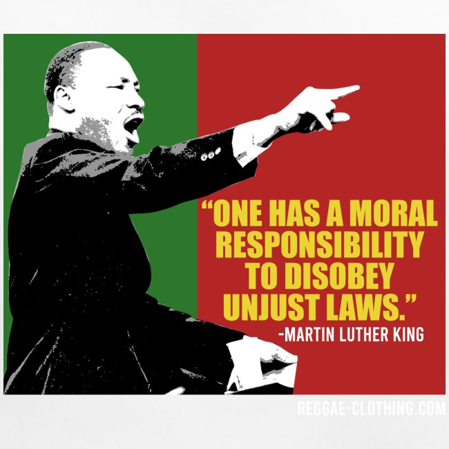 MARTIN LUTHER KING unjust laws