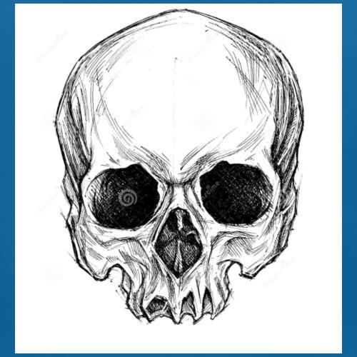 Tshirt tête de mort - Bavoir bio Bébé