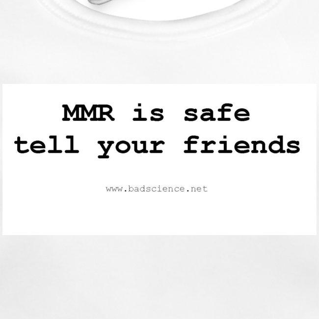 mmr is safe