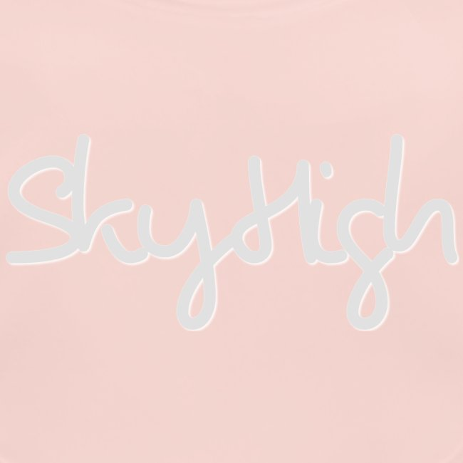 SkyHigh - Men's T-Shirt - Gray Lettering