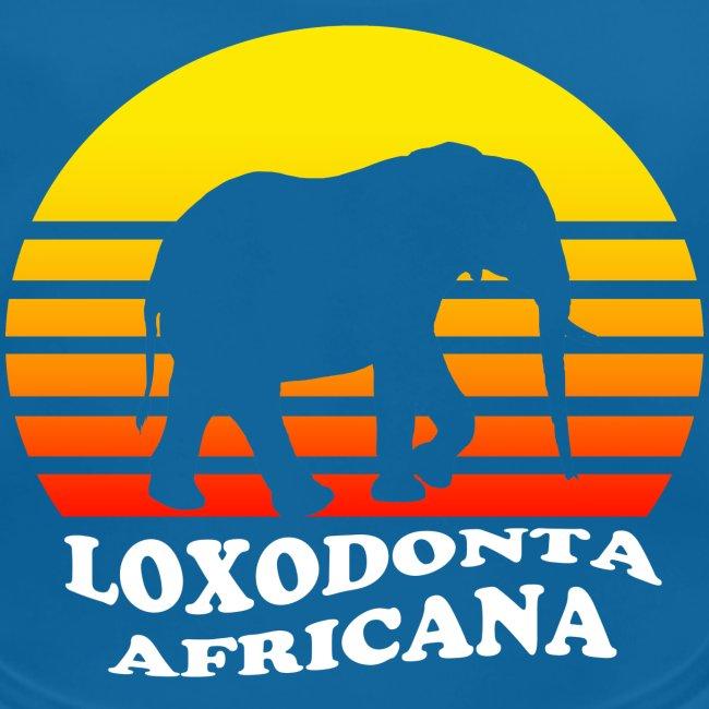 LOXODONTA AFRICANA (für dunklen Untergrund)